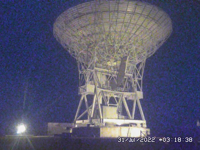 Webcam Radiotelescopi